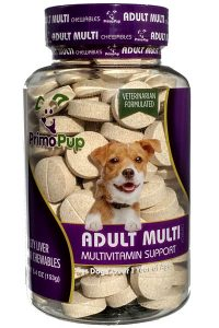 Jar of Adult Dog Multivitamins